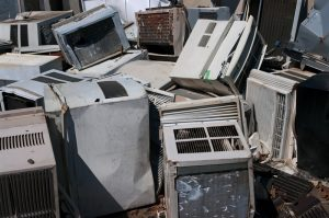 old-air-conditioner-junk-yard